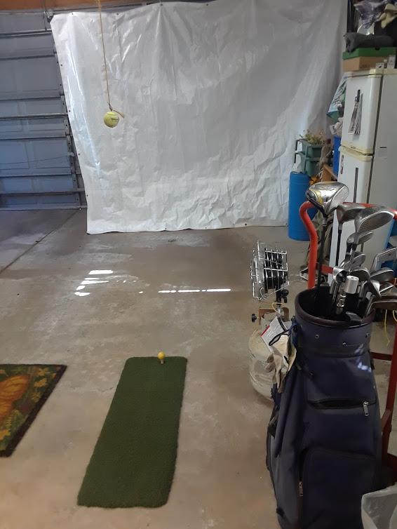 garage golf